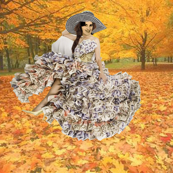 Осенние лисья